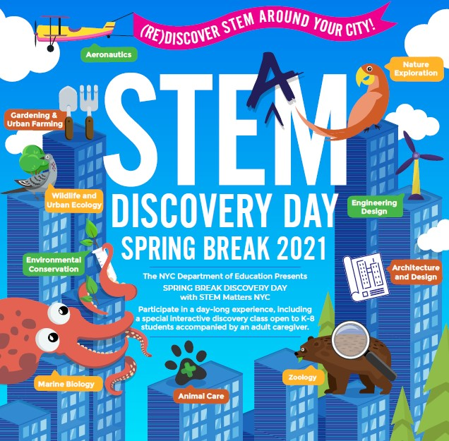 STEM Spring Break Camp 2021